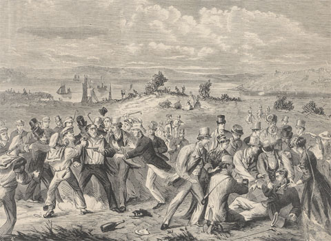 Assassination Attempt on Prince Alfred, Sydney, March 1868 - Image from National Museum Australia