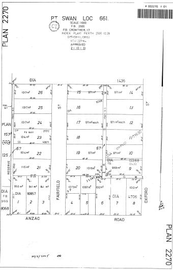 Donald Smith Land plan